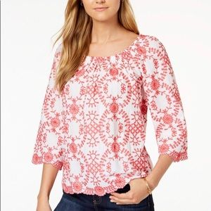 Charter Club Off-the-shoulder Top